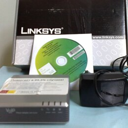VoIP-оборудование - Linksys SPA2102 (PAP2T-EU), 0