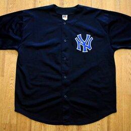 Футболки и майки - Бейсбольная Рубашка NY Russel Athletics, 0