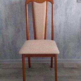 Стулья, табуретки - Hv-25 стул обеденный, цвет antique cherry 14655/ткань 787 бежевый, 0