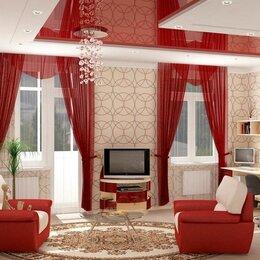 Потолки и комплектующие - Сатиновый натяжной потолок, 0