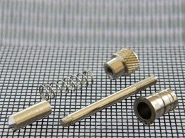 Уголки, кронштейны, держатели - Плунжер (пружинный штифт) для крепления…, 0