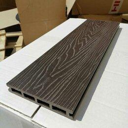 Древесно-плитные материалы - Террасная доска из ДПК  состаренное дерево 3D Венге, 0