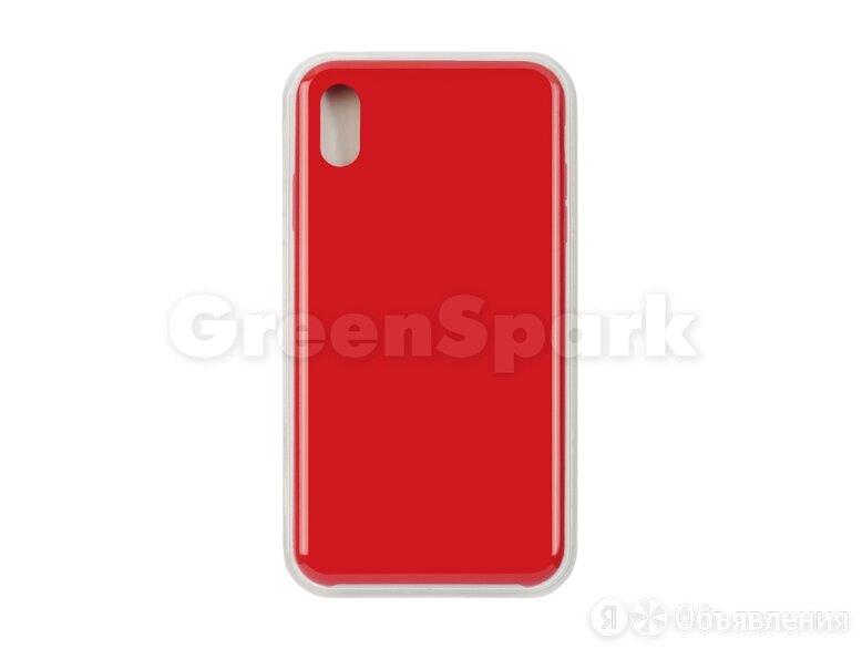 Накладка Vixion для iPhone Xs Max (красный) по цене 300₽ - Чехлы, фото 0