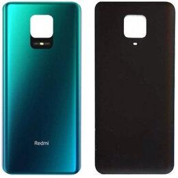 Корпусные детали - Задняя крышка Xiaomi Redmi Note 9 Pro/Redmi Note 9S/Redmi Note 9 Pro Max синяя, 0
