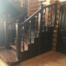 Лестницы и элементы лестниц - Лестницы массив, 0