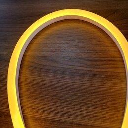 Светодиодные ленты - Жёлтый гибкий неон 12 В, 8*16 мм, кратность реза 25 мм., 0
