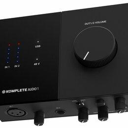 Оборудование для звукозаписывающих студий - Native Instruments Komplete Audio 1 аудио интерфейс, 0