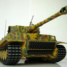 Модели - Модель танка Тигр 1:16 (Hachette), 0