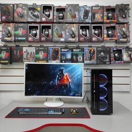 Настольные компьютеры - Игровой компьютер AMD Ryzen 5 3600, 0