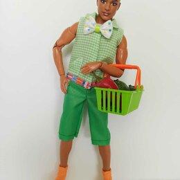 Аксессуары для кукол - Рубашка с бантом и бриджи для Кена., 0