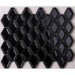 Мозаика - Мозаика Tessare 32,5х25х0,7см керамика черный шт(QY74000), 0