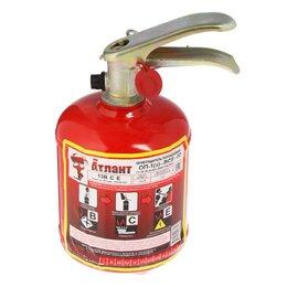 Противопожарное оборудование и комплектующие - Огнетушитель порошковый 'Атлант' ОП-1 (з), ВСЕ, 0