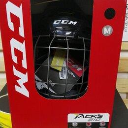 Защита и экипировка - Шлем CCM Tacks 310 Сombo    Размеры: M , Черный    , 0