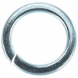 Шайбы и гайки - Оцинкованная пружинная шайба Метиз-Эксперт 16 DIN127 (50 шт.), 0