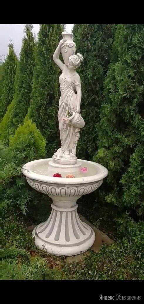 Фонтан девушка с чашей и кувшином по цене 35000₽ - Декоративные фонтаны, фото 0