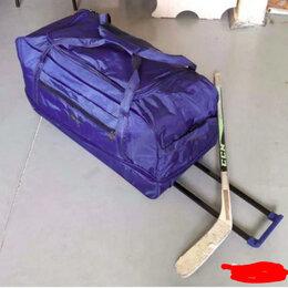 Аксессуары - Детский хоккейный баул на колесах новый, 0