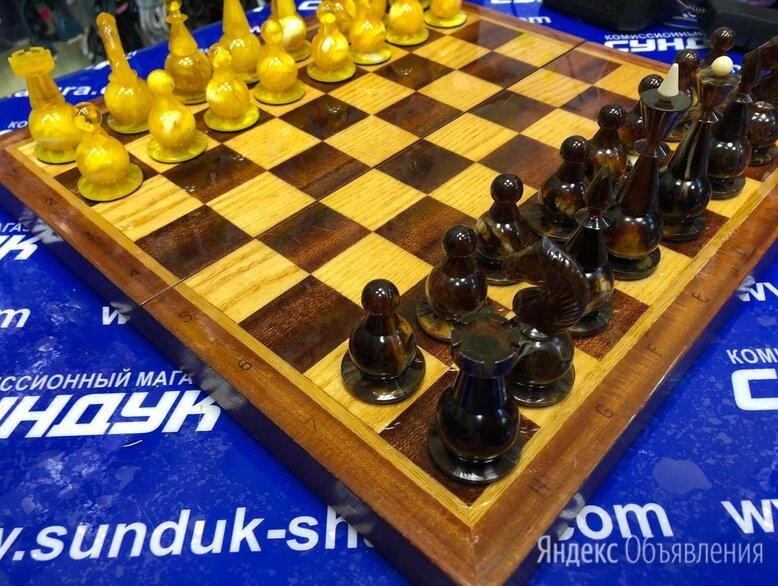 Шахматы подарочные под янтарь (СССР)  по цене 18000₽ - Настольные игры, фото 0