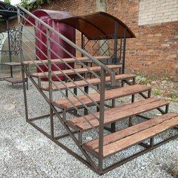Лестницы и элементы лестниц - Уличная лестница, ступени, 0