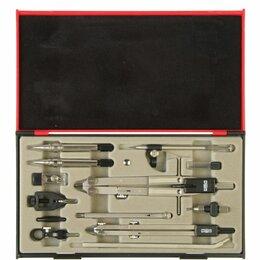 Канцелярские принадлежности - Готовальня профессиональная KOH-I-NOOR, 13 предметов, пластиковый пенал, 09452B0, 0