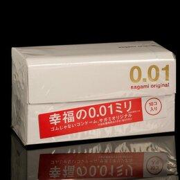 Презервативы - Sagami Презервативы Sagami Original 001, 10 шт./уп., 0