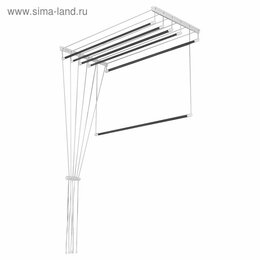 Дизайн, изготовление и реставрация товаров - Сушилка д/белья ЛИАНА 2м с металл креплением, 0
