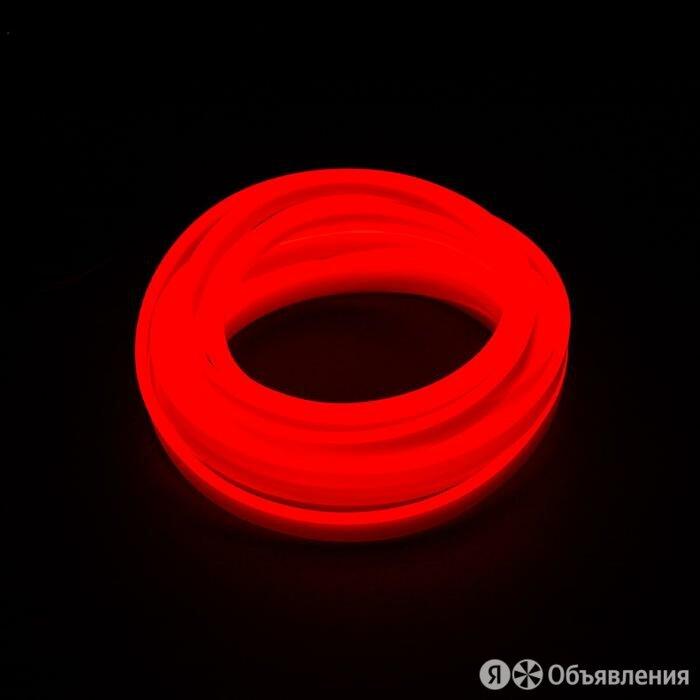 Неоновая нить для подсветки салона, красная, 3 м по цене 618₽ - Интерьерная подсветка, фото 0
