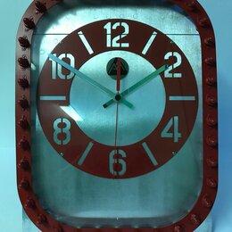 Часы настольные и каминные - Брутальные настольные часы из фюзеляжа самолёта BombardierCRJ200, 0