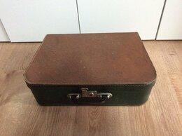 Другое - Небольшой старинный чемоданчик балетка, 0