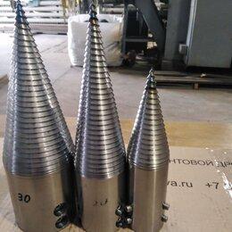 Дровоколы - Насадки дровоколы с 2х заходной упорной резьбой ст45, 0