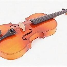 Смычковые инструменты - Mirra VB-310-4/4 Скрипка 4/4 в футляре со смычком, 0