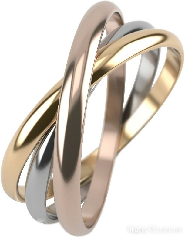 Обручальное кольцо Graf Кольцов KRT-2/BZHKS_16 по цене 2030₽ - Комплекты, фото 0