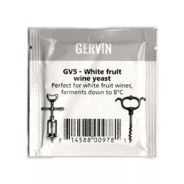 Ингредиенты для приготовления напитков - Винные дрожжи GERVIN GV5 для белых фруктовых вин, 0