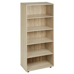 Шкафы для документов - Шкаф для документов открытый 800х404х1900 Ясень шимо светлый, 0