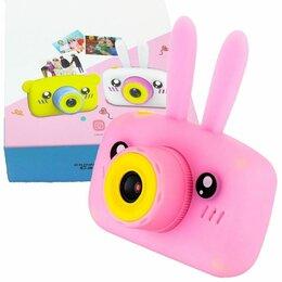 Фотоаппараты - Детский цифровой фотоаппарат - камера (зайчик) , 0