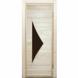 Двери - Дверь банная с остеклением ПО-10, 0