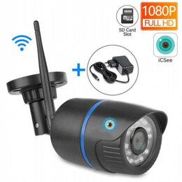 Камеры видеонаблюдения -  Камера видеонаблюдения wi-fi 1080p уличная, 0