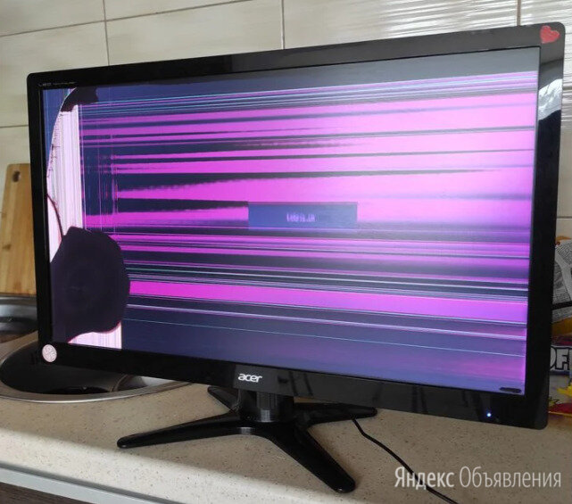 Монитор Acer G236HL на запчасти  по цене 777₽ - Мониторы, фото 0
