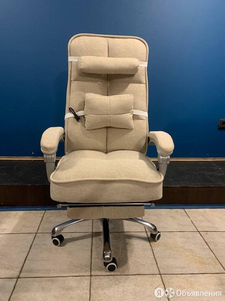 компьютерное кресло с вибромассажером текстиль по цене 11499₽ - Компьютерные кресла, фото 0