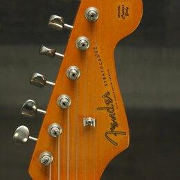 Аксессуары и комплектующие для гитар - Деколь для Fender Stratocaster 1983-1984. Доставка, 0