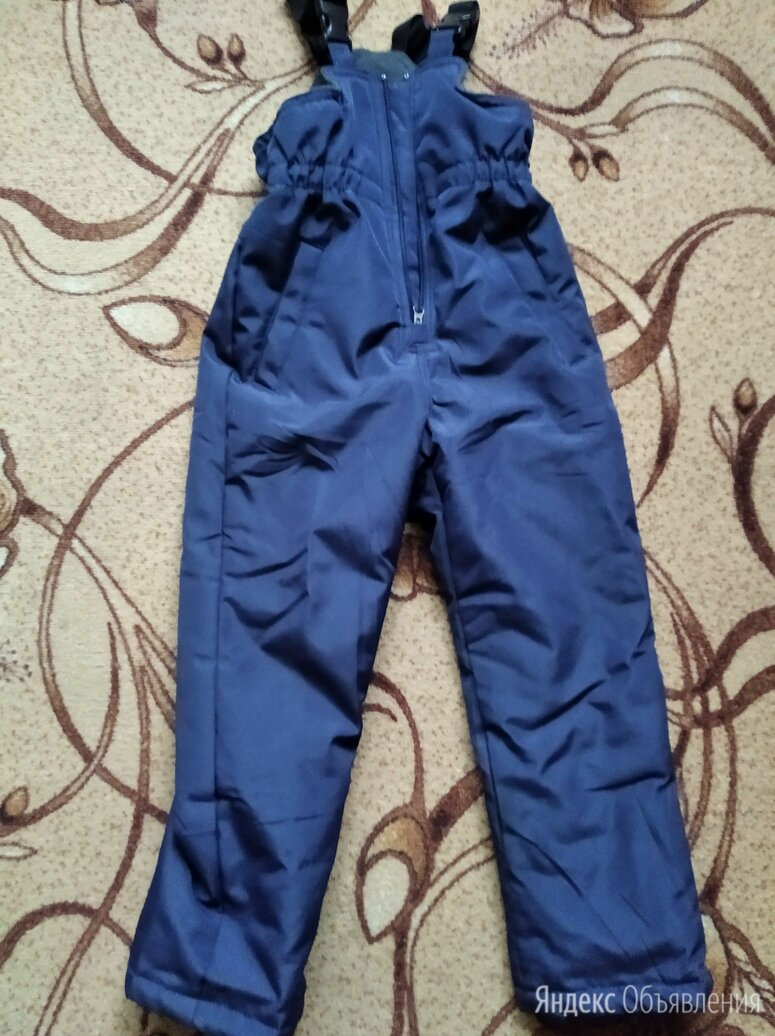 Futurino штаны зимние на лямках материал по цене 350₽ - Полукомбинезоны и брюки, фото 0