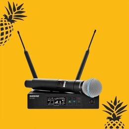 Радиосистемы и радиомикрофоны - Вокальная радиосистема SHURE QLXD24E/KSM94, 0