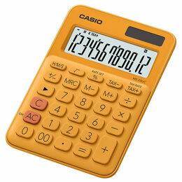 Калькуляторы - CASIO Калькулятор настольный CASIO MS-20UC-RG-S-EC, 12-разрядный,105х150х23мм..., 0