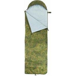 Спальные мешки - Спальный мешок БАТЫР EXTREME СОК-300 (220*70) Stratex КМФ цифра Helios, 0