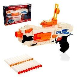 Игрушечное оружие и бластеры - Бластер War soul gun, стреляет мягкими пулями, работает от батареек, 0