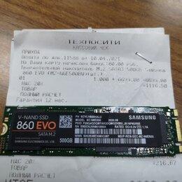 Жёсткие диски и SSD - M2 SSD 512Gb Samsung EVO 860 EVO на гарантии, 0