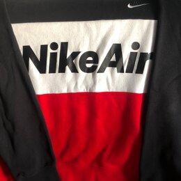 Толстовки - Мужской флисовый свитшот Nike Air, 0