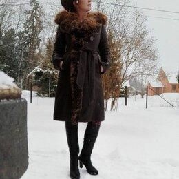 Дубленки - Дубленка классическая женская, 0