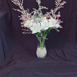 Цветы, букеты, композиции - Композиция цветов из бисера , 0