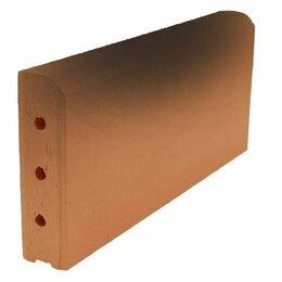 Тротуарная плитка, бордюр - Бордюр клинкерный тротуарный ZG Clinker 305*37*130мм(Польша), 0