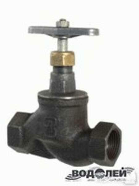 САЗ Вентиль чугунный муфтовый Ду-65 (15кч18п1) по цене 885₽ - Запорная арматура, фото 0